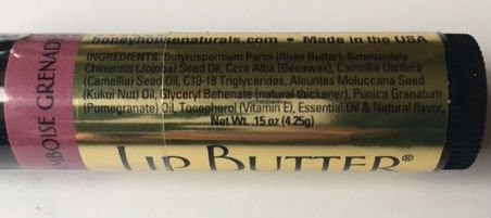 Bundle of 5 - Honey House Naturals Lip Butter Tubes - Fruit Variety Pack by Honey House Naturals (Image #2)