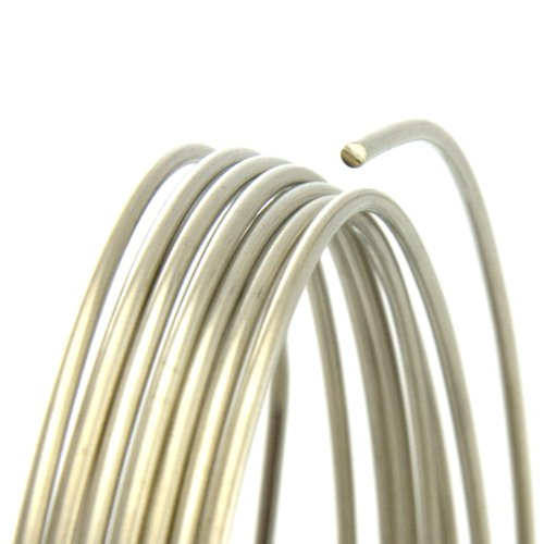 [20 Gauge Round Dead Soft Nickel Silver Wire - 25FT] (20 Gauge Furniture)