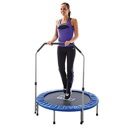 Pure Fun 40-inch Exercise Trampoline with Handrail (Pure Trampoline Fun Indoor)