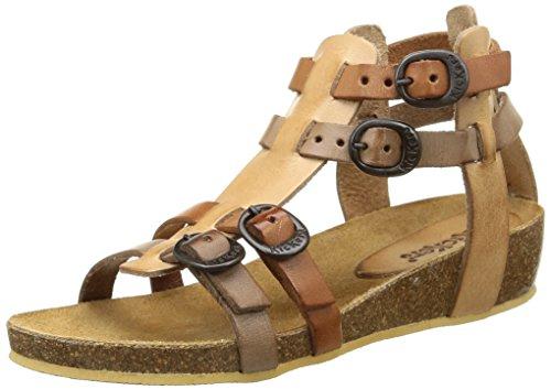 Kickers Bomdia Mädchen Sandalen Beige (Beige Camel)