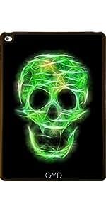 Funda para Apple Ipad Air 2 - Verde Cráneo Reluciente by UtArt