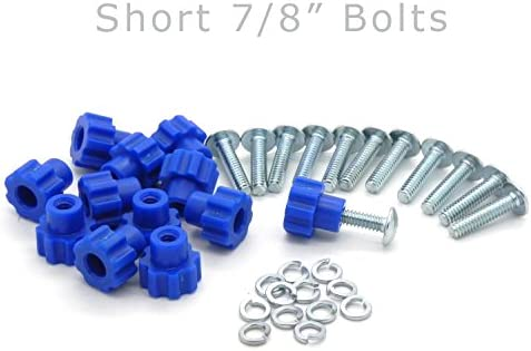 Pet Carrier Fasteners – Blue 16 Pack