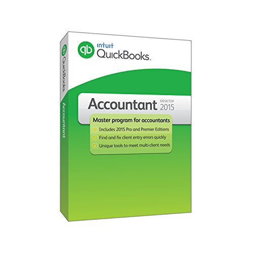 Intuit 424444 QuickBooks Accountant 2015 product image