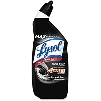 Amazon Com Lysol Toilet Bowl Cleaner With Lime Amp Rust