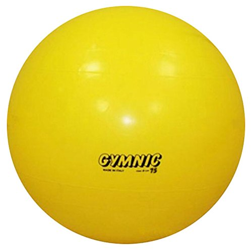 Gymnic / Classic 30″ Fitness Ball, Yellow For Sale