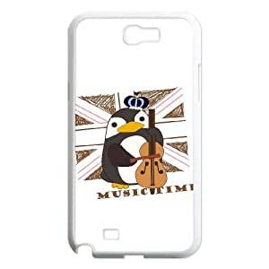 Cute Penguins Case Cover Best For Samsung Galaxy Note 2 Case KHR-U545028