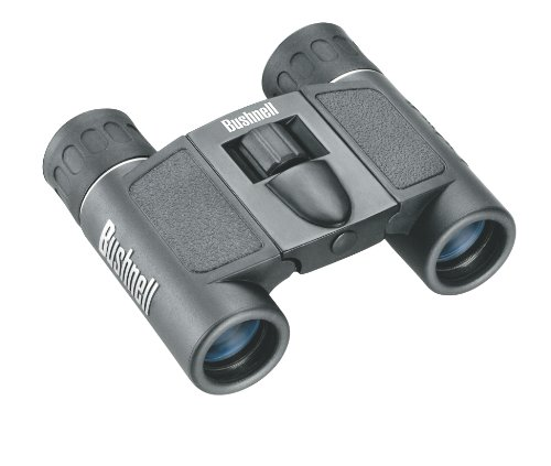Bushnell Powerview 8×21 Compact Folding Roof Prism Binocular (Black), Outdoor Stuffs