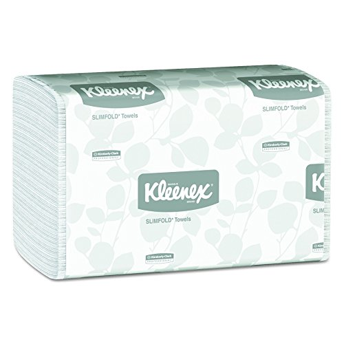 Kleenex 04442 Slimfold Paper Towels, 7 1/2 x 11 3/5, White, 90 per Pack (Case of 24 Packs), 4 Case by Kimberly-Clark Professional (Image #1)