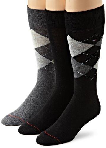 Tommy Hilfiger Mens Argyle Socks