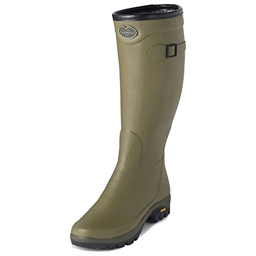 Boots Unisex Vert Chameau Adults' Country Vibram Vierzon Le v4xqfv
