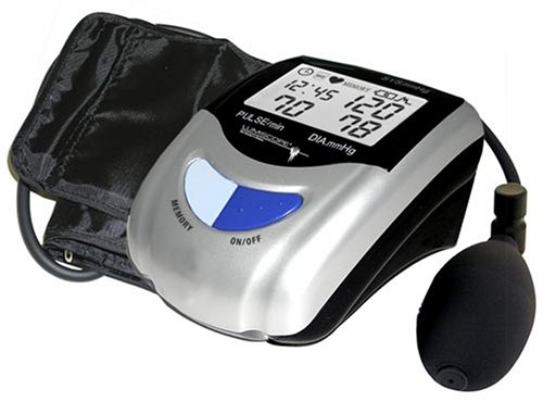 (Lumiscope 1103 Semi-Automatic Blood Pressure Monitor with Date and Time)