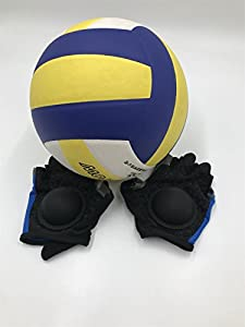Volleyball Setter Training Gloves - Perfect Training Aid to Teach Proper Setting Technique - No Flat Hands from HOWAI