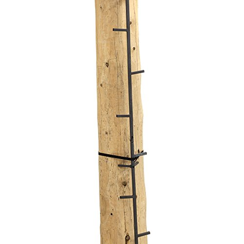 Rivers Edge RE730, Big Foot 20' Connected Stick, Tree Stand Climbing System, 5' Sections (4 Total), Alternate Step Design, Permanent Non-Slip Coating