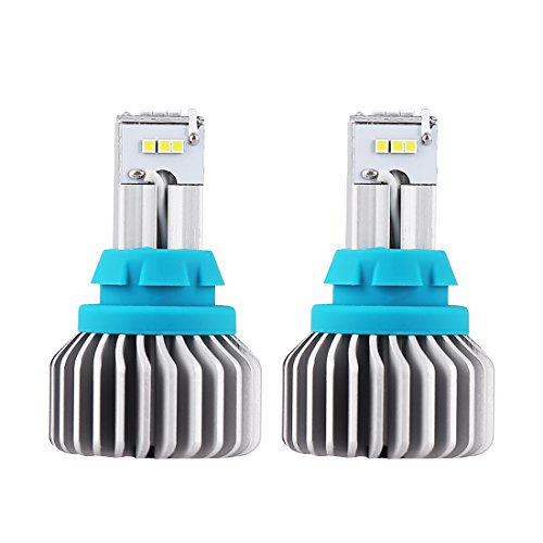 Bordan 912 921 T15 LED Bulbs Extremely Bright 1000 Lumens Error Free Newest CSP 9 SMD for Back Up Reverse Lights, 6500K White