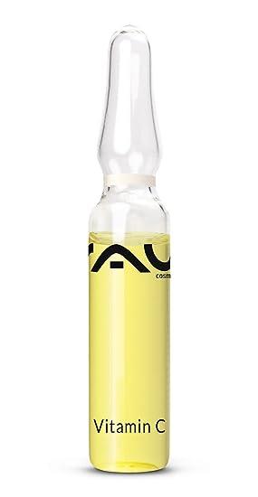 RAU Cosmetics - Ampollas con vitamina C 10 x 2 ml - concentrado con vitamina C