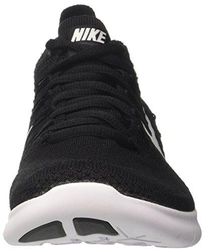 Nike Mens Free Rn Flyknit 2017 Scarpa Da Corsa Nero / Bianco-antracite