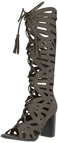 2 Lips Too Women Riley Dress Sandal Slate