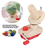 Everyfit Yarn Ball Winder, Organize Knitting Tools, Fast Hand Operated Knitting: more info