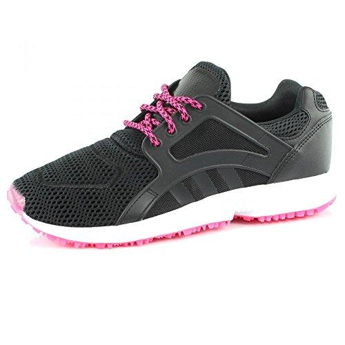 adidas Originals Racer Lite Damen Sneakers Schwarz Pink