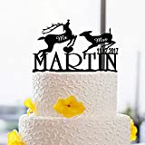 Cake Decorating Tools With Animals Name And Date Wedding Cake Toppers Custom