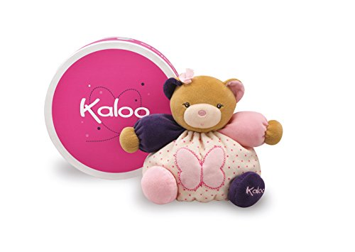 Kaloo Petite Rose Small Bear with Butterfly