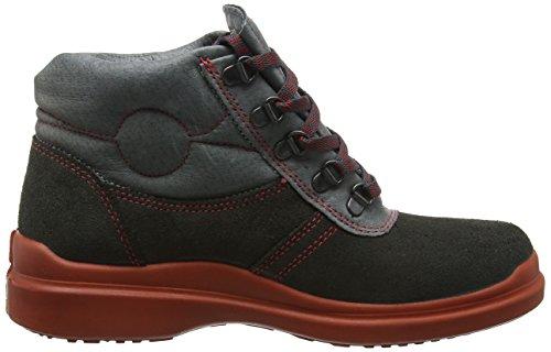 """Cofra 58250–002.w39taglia 39O3""""Dachdecker Scarpe di sicurezza, colore: nero/rosso"""