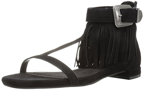 Women's Black Lowdown Suede Heeled Aerosoles Sandal xpSHwqW8xR