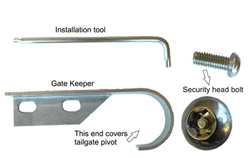 GATE KEEPER Tailgate Security for 2015-20 F150 and 2017-2020 F250 F350 F450 SuperDuty and Raptor Trucks