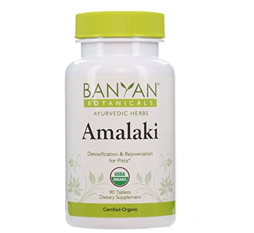 Banyan Botanicals Amalaki - Органические, 90 таблеток - для детоксикации и омоложения для Питта *