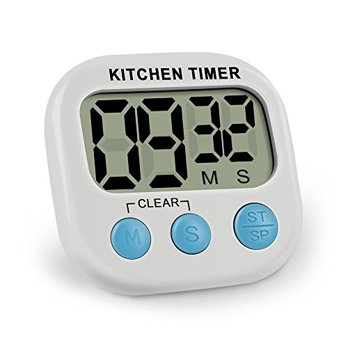 ieka digital kitchen timer minute second count up countdown digital
