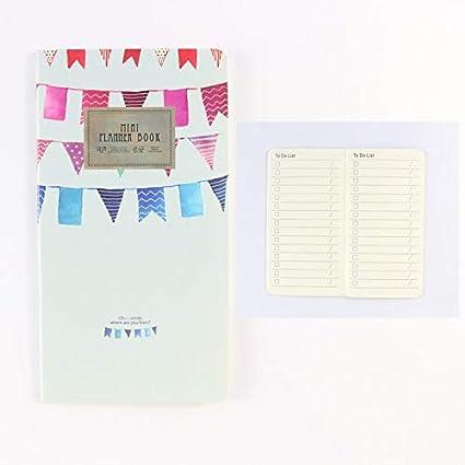 Amazon.com : Golden Store129 Student Planner Cute Mini ...