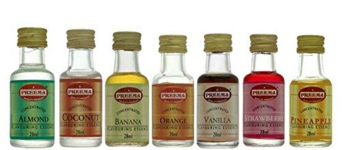 Banana Essence (Preema 7 Essence Combo Pack -7 x 28ml)