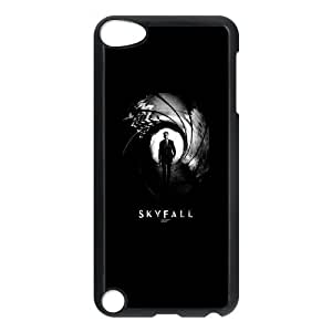 Durable Hard cover Customized TPU case James Bond Skyfall iPod Touch 5 Case Black