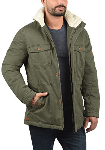 Green Ivy Invierno Hombre Chaqueta BLEND 77086 Kenneth de para FZw0y6q7
