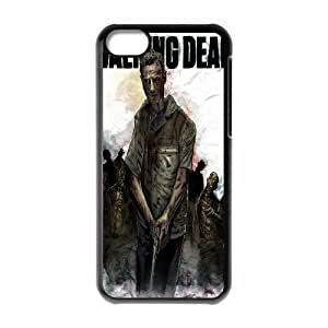 I-Cu-Le Print The Walking Dead Pattern PC Hard Case for iPhone 5C