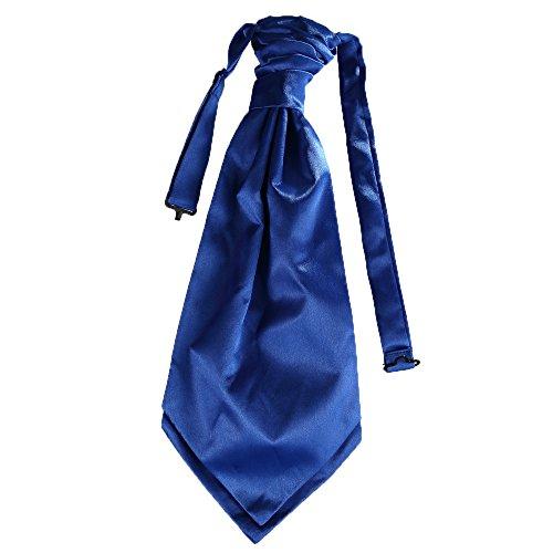 Mens Royal Tie Decor Party Matching UK Premium Event Cravat whole Blue for Wedding wedding wx7n56qIf