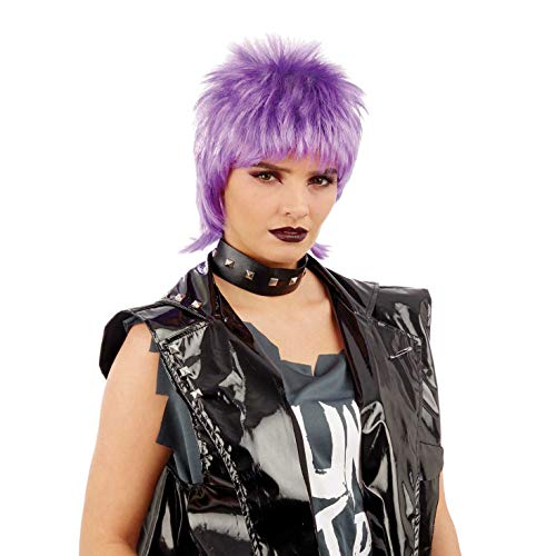 WIG ME UP-Party//Fancy Dress//Halloween Perruque Mohawk 80ies Wave glam punk...
