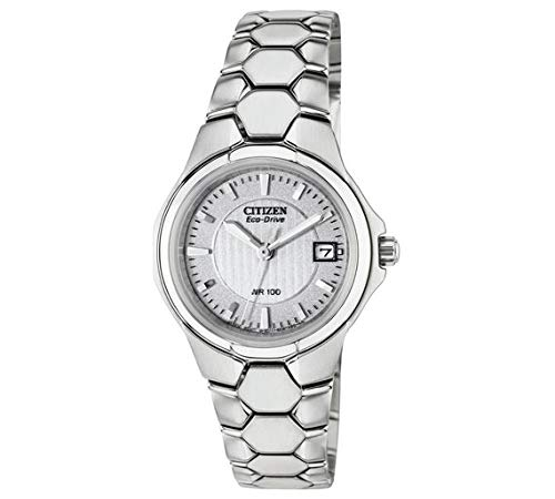 de calidad superior orden presentación Citizen Eco-Drive Reloj de Pulsera de Tono Plateado para ...