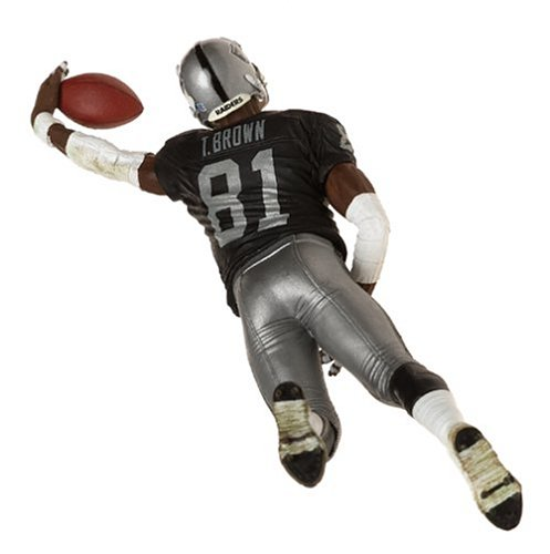 Black Jersey Oakland Raiders McFarlane Toys NFL Sports Picks Series 8 Action Figure Tim Brown
