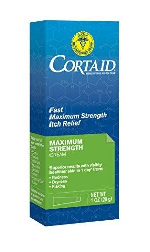 1% Cortaid Cream (Cortaid Maximum Strength Cream, 1 Ounce by Cortaid)