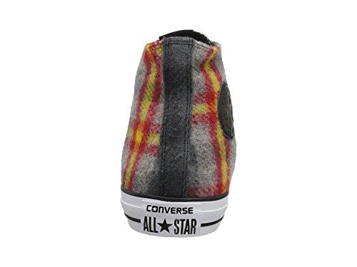 Converse All Star CT Hi Woolrich Hi Top Herren Sneaker Casino/Yellow