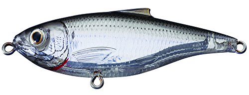 Koppers Sardine Scaled Salt Water Lure, 3-Inch, Suspend, Ghost/Natural