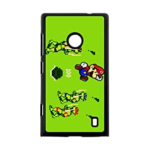 Classic Cartoon Film&Teenage Mutant Ninja Turtles Theme Case Cover for Nokia Lumia 520- Personalized Cell Phone Protective Hard case Shell