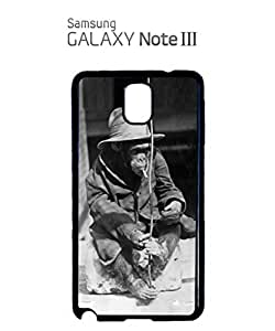 Monkey Smoking Hat Mobile Cell Phone Case Samsung Note 3 White