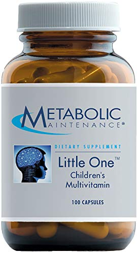 Metabolic Maintenance - Little One - Children's Multivitamin, 6-12 yrs, 100 Capsules