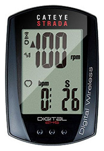 CatEye - Strada Digital Wireless Cycle (Bike Computer With Cadence)