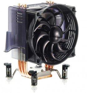 Cooler Master Hyper TX2 Copper Base Aluminum Fins 3 Heatpipes CPU Cooler - (RR-CCH-L9U1-GP)