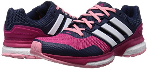 Rose Response Chaussures bold Boost collegiate 2 De Comptition Adidas Running Navy Metallic Pink Femme silver 8pqdxW