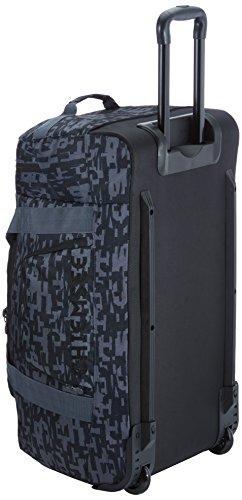 Chiemsee Rolling Duffle Reisetasche Typo Black JsHzPKP