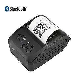 SDZSH Portátil 58Mm Impresora Térmica De Recibos Bluetooth ...